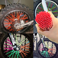 For KAWASAKI Motocross SPOKE SKINS Wheel RIM SPOKE COVERS For KAWASAKI 500 KX 450 KLX250 KLX450R KLR650 SUZUKI DRZ400 RMX250 New
