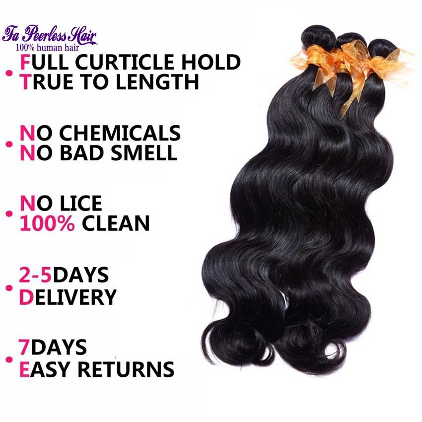100% Unprocessed 7A Peruvian Virgin Hair Body Wave Cheap 1B Human Hair Weft Queen Hair Product Peruvian Body Wave 4 Bundles Rosa-004