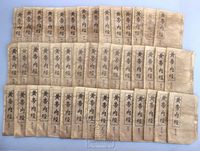 Antique collecting antique book Old and ancient book thread bound book second hand old medical books huang di nei jing44 piece