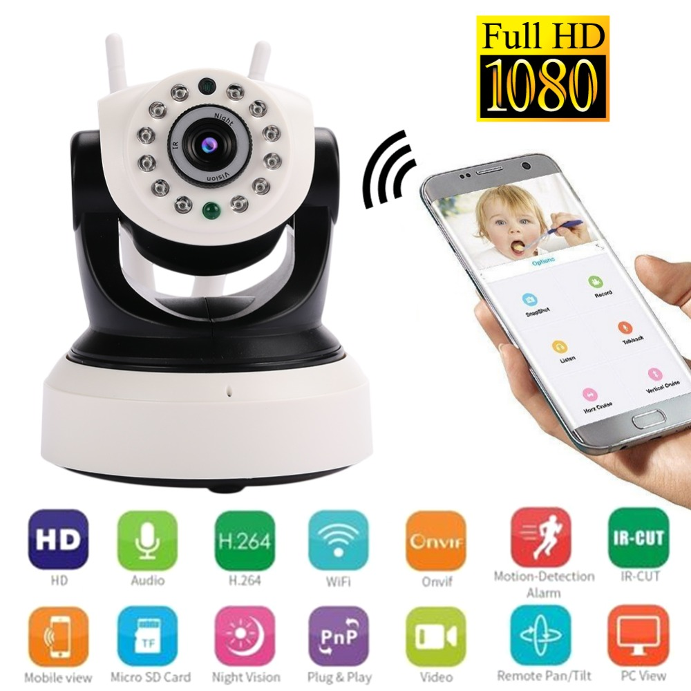 giantree 1080P 2MP Wifi Security Camera IP Camera Phone Remote Two-way voice Video Recorder Mini Wireless Camera Double Antennagiantree 1080P 2MP Wifi Security Camera IP Camera Phone Remote Two-way voice Video Recorder Mini Wireless Camera Double Antenna