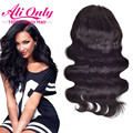 Indian Body Wave Lace Front Full Lace Human Hair Wigs 7A Human Hair Lace Front Wigs Black Women Alionly Glueless Full Lace Wigs