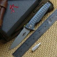 DICORIA оригинальный 701 на открытом воздухе шестерни Флиппер складной нож для ежедневного использования, Титан ручка S35VN лезвие Тактический ла