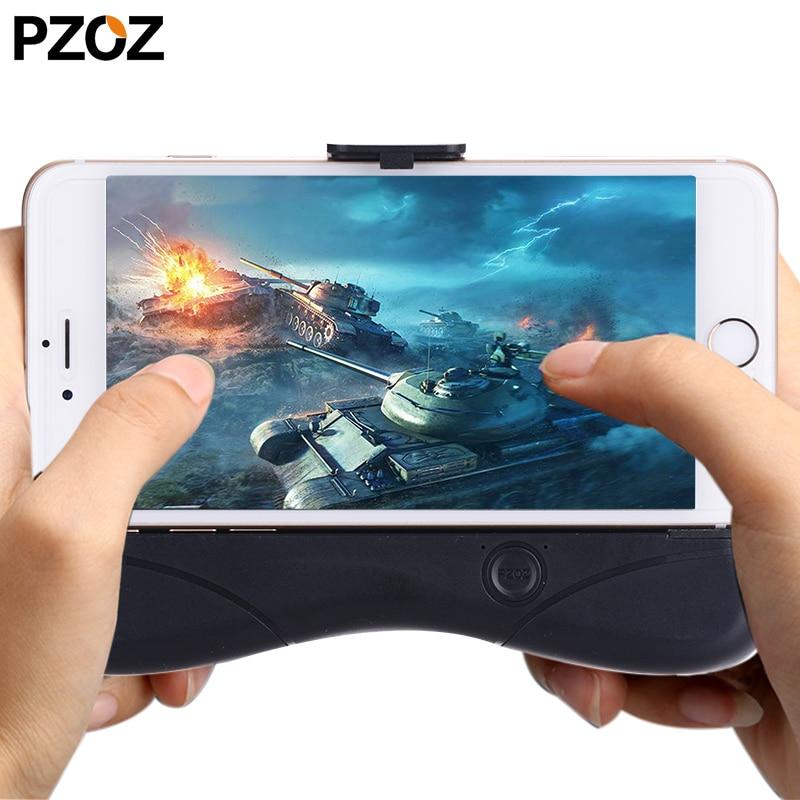 Pzoz геймпад ручной игры Grip радиатора Stand DUAL Вентилятор охлаждения зарядки телефона Мощность банка для <font><b>Iphone</b></font> samsung s9 s8 Xiaomi a1 huawei