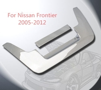 3M Car styling Trunk Cover 2005 2012 For Nissan Frontier Chrome ABS Tailgate Handle Cover