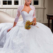 srui sker Bolero Ball Gown Wedding Dresses Bridal Gown