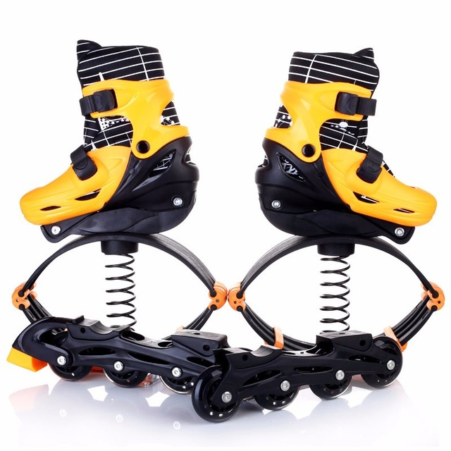 2017 New Jumping Jump Shoes 2in1 Roller Skate Bounce Shoes