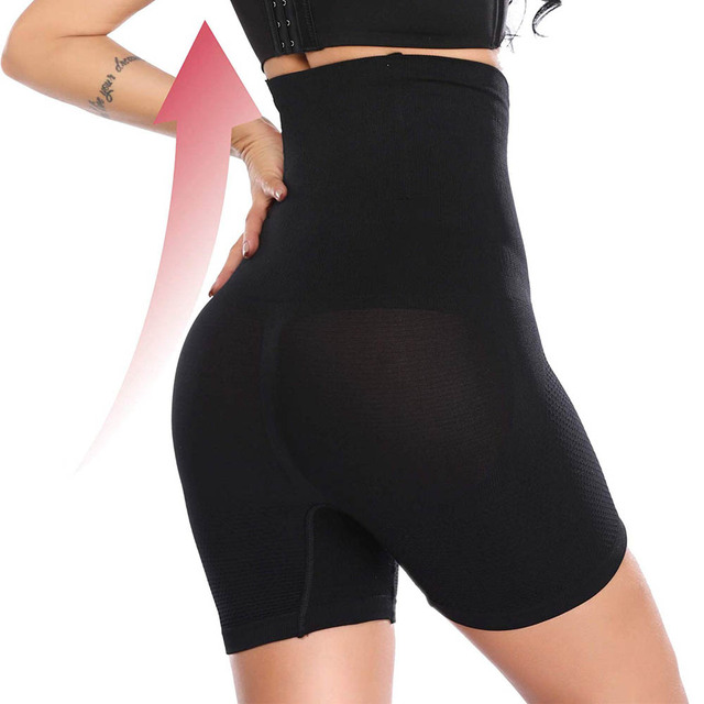 Lover Beauty Shapewear Workout Waist Trainer Corset Butt lifter Tummy Control Plus Size Booty Lift Pulling Underwear Shaper 3