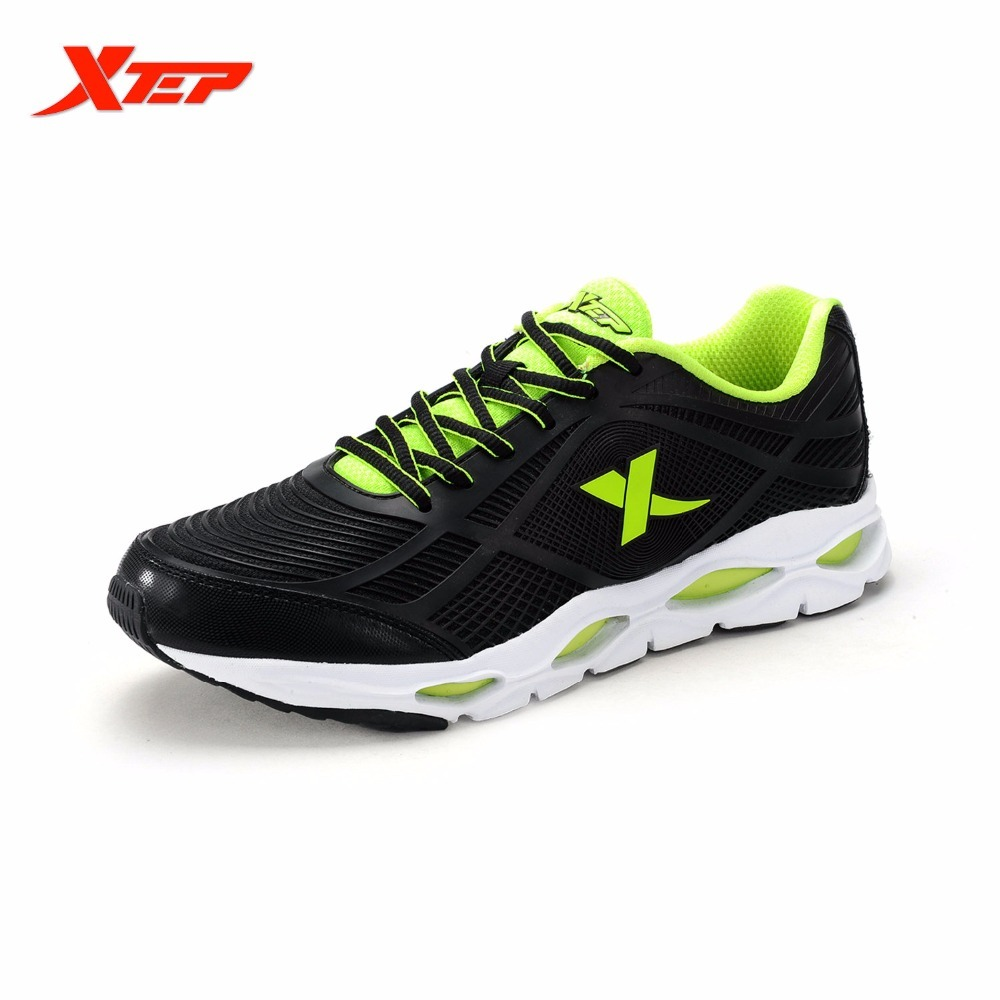 XTEP Brand New 2017 Men Sports Shoes Running Light Mesh Shoes Sneakers Man Super Cool Run Shoes Sapatos Cushioning lightweight