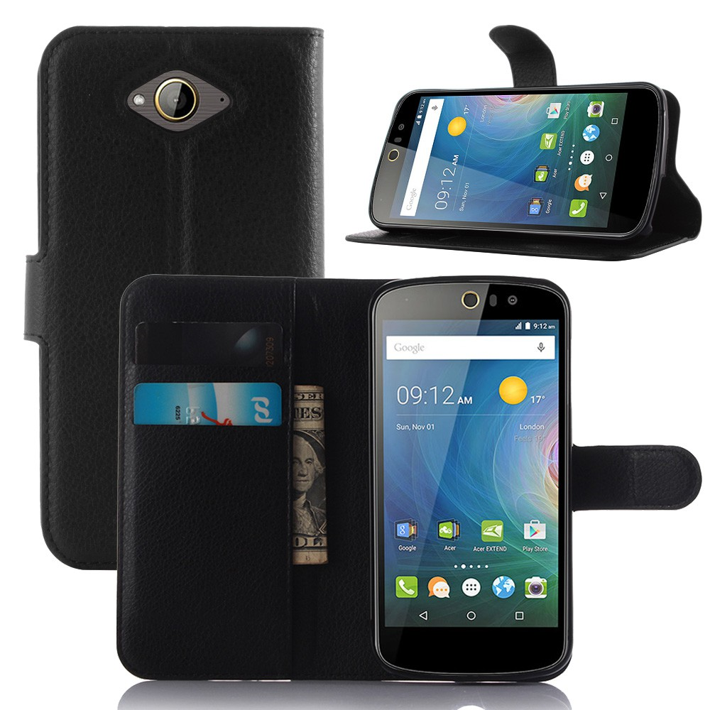 Phone Case For Acer Liquid Z530 Z530S PU Leather Wallet Filp Casing Shell Cover