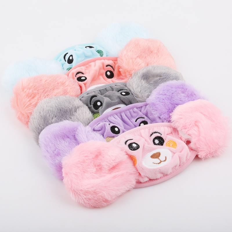 Ear Windproof Warm Face Mouth Fashion Winter Cartoon Dust Winter Masks Child Cover Bts Balaclava Kids Face Cover