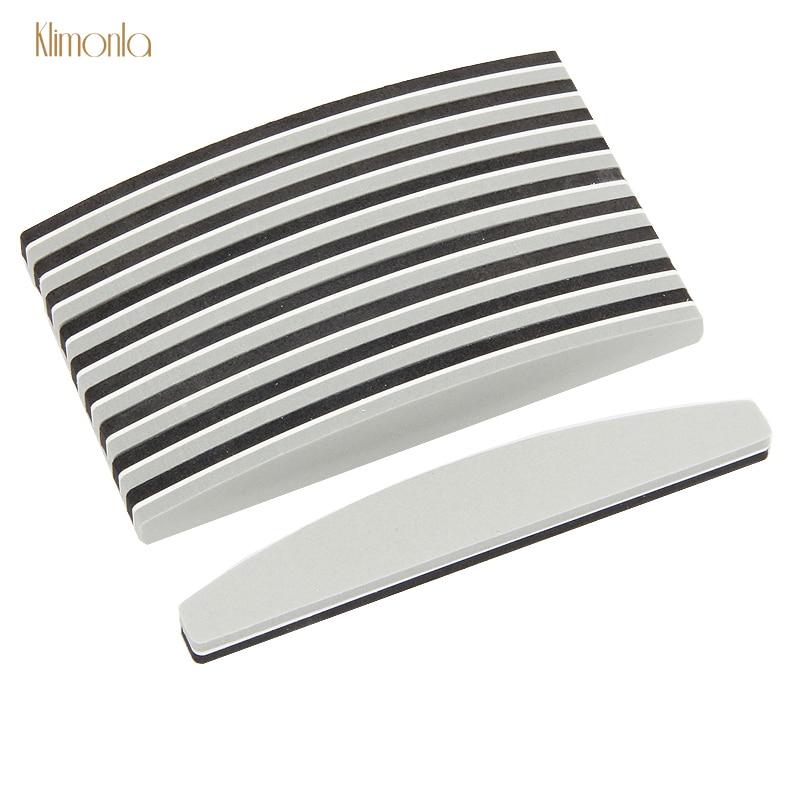 25pcs Nail File Sponge 180/240 Nail Sanding Buffer Blocks UV Gel Acrylic Nail Polish Beauty Tools Nail Accessoires For Salon