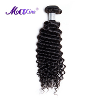 Maxine Hair Thick Malaysian Deep Curly Weave Remy Hair Weave Bundle 100g Real Human Hair Extension 1 PC Double Weft Hair Bundle