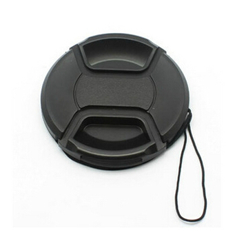 49 52 55 58 62 67 72 77 82 86mm center pinch Snap-on cap cover for canon for nikon for sony camera Lens without logo