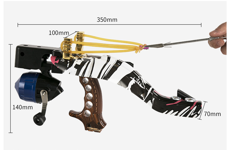 High Quality Powerful 1 Set Slingshot Professional and Integration for Hunting Fishing  jjff new powerful high quality 1 set