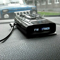 2 In 1 OLED GPS Radar Detector G 900STR Anti Speed Camera For Russia