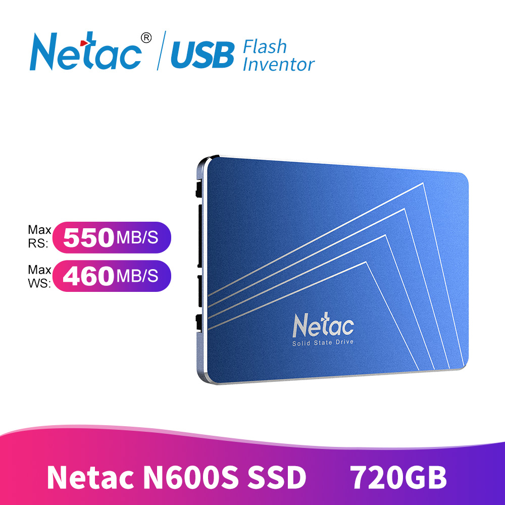 Netac SSD 720 GB 1 TB 360 GO disque dur SATA 3.0 430 GB TLC Interne Solid State Drive 2.5