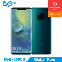 Original Huawei Mate 20 PRO Global Rom 6G 128G Mobile Phone 4G LTE Octa Core 6.39 3120*1440 4200mAh Fingerprint ID NFC