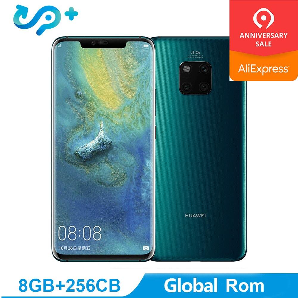 "Original Huawei Mate 20 PRO Global Rom 6G 128G Mobile Phone 4G LTE Octa Core 6.39"" 3120*1440 4200mAh Fingerprint ID NFC"