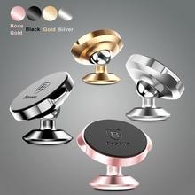 360 градусов магнитный кронштейн автомобиля для iPhone 5 Samsung 6 оригинал Панель держатель мобильного телефона для LG xiaomi huawei универсальный поп