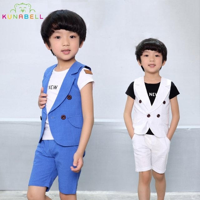 278dcad45 Children Boys Suits Brand England Kids Summer Weddings Birthday ...