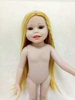 45 cm hard vinyl / doll toys for kids 18 inch full silicone body reborn baby alive dolls brinquedo make up for DIY