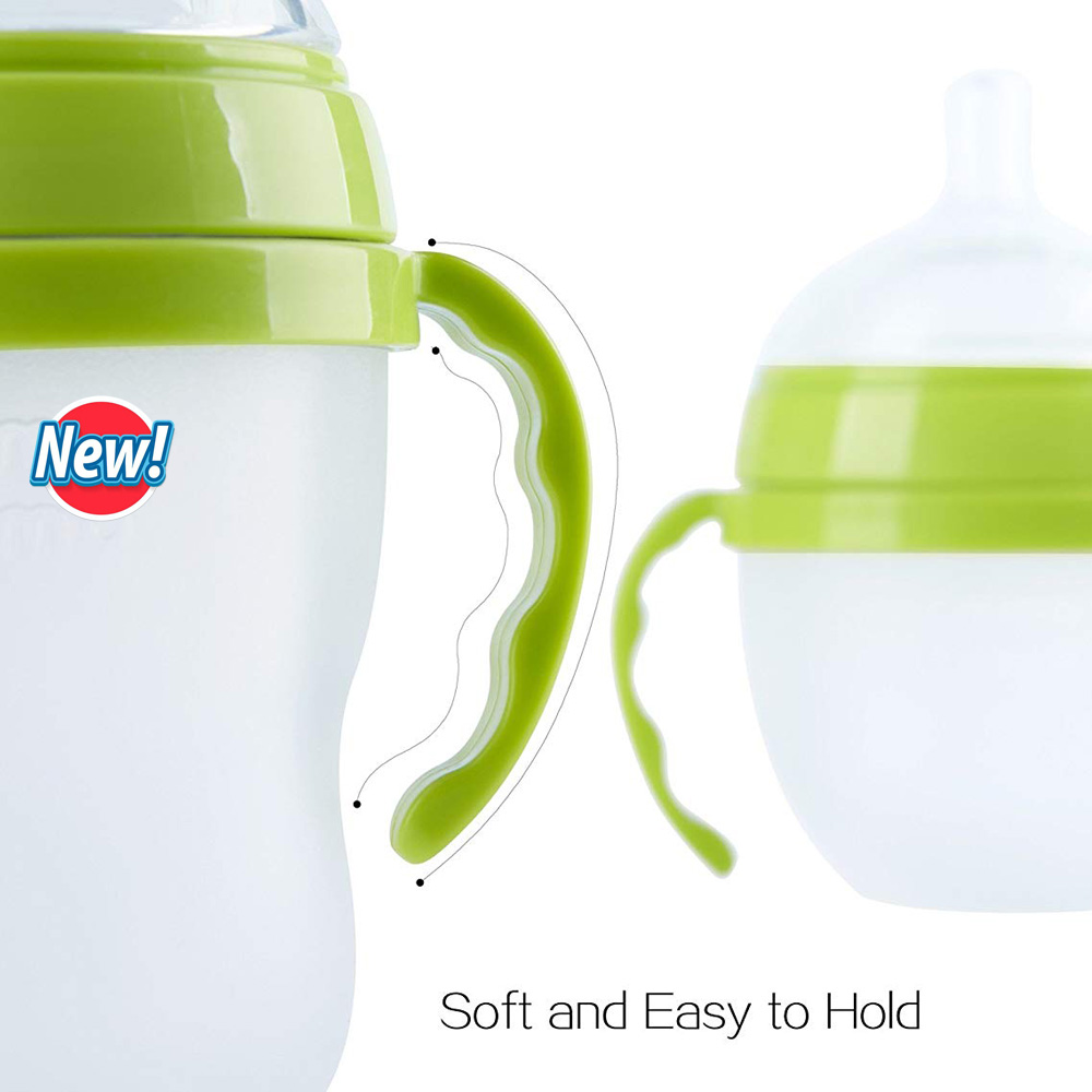 Designed for C.. Free Shipping Co-Feeding Handles for Comotomo Feeding Bottles