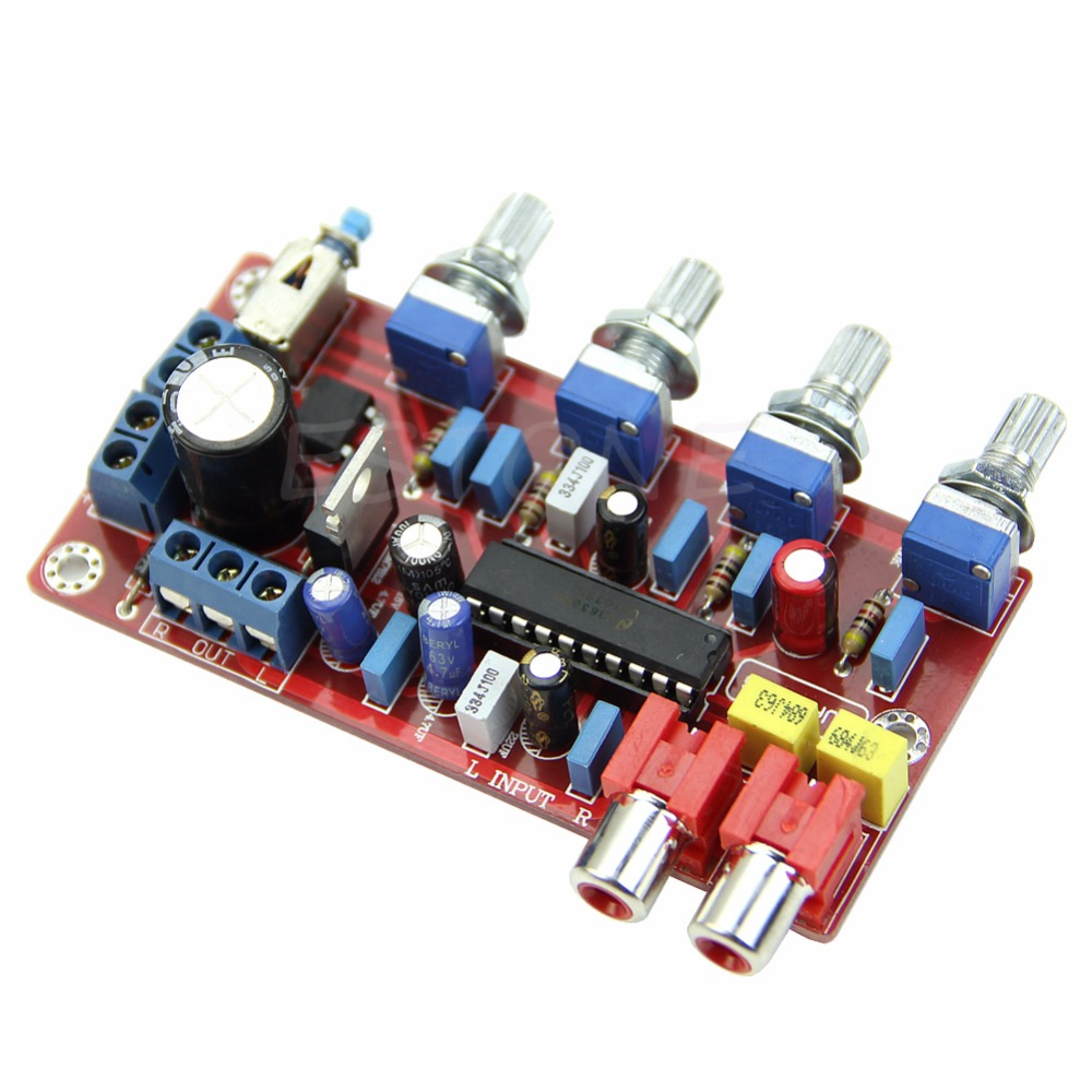 LM1036 Pro Luxurious Volume Control 1000UF//25V Completed and Tested Tone Board