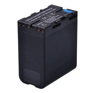 Image 2 - 1Pc 5200Mah BP U60 Bp U60 BPU60 BP U90 Batterij Voor Sony PMW 100 PMW 150 PMW 160 PMW 200 PMW 300 PMW EX1 EX3 EX280 EX260 PHU 60K