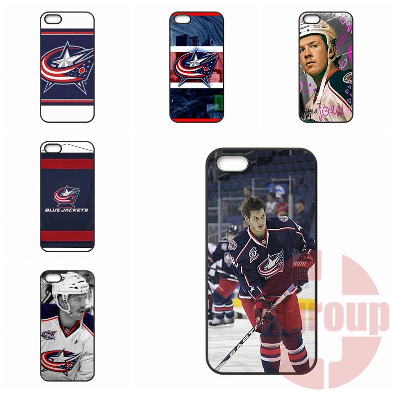 For Galaxy Core 4G Alpha Mega 2 6.3 Grand Prime S Advanced S6 edge Ace Nxt Plus columbus blue jackets NHL Hard PC Mobile Phone