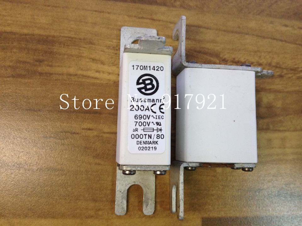 [ZOB] The United States Bussmann Cooper OOOTN 200A 690V 170M1420 fuse tube to ensure genuine insurance --10PCS/LOT