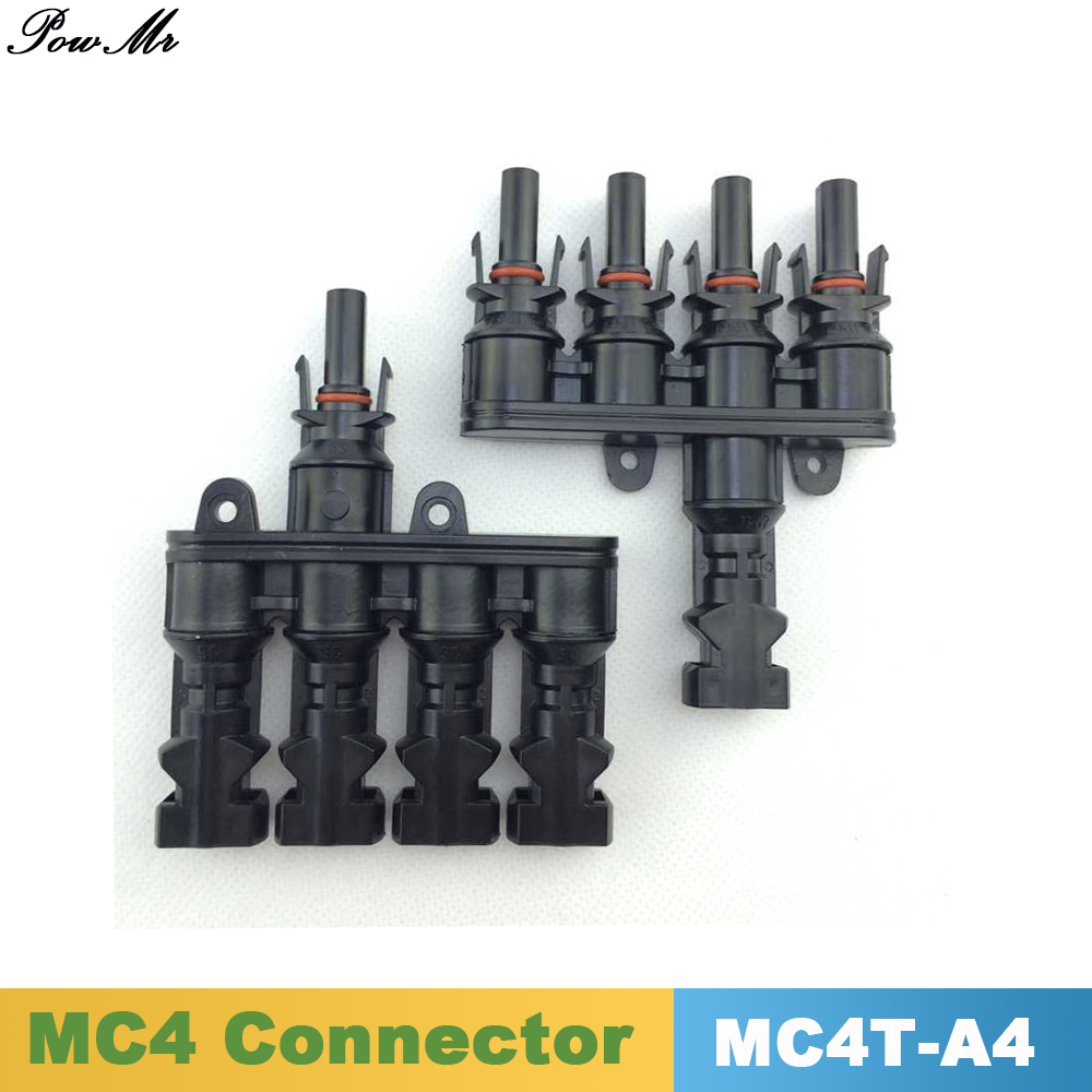 10 Pairs 1 to 4 MC4 Connector Male and Female M FM 20A 30A Solar Panel