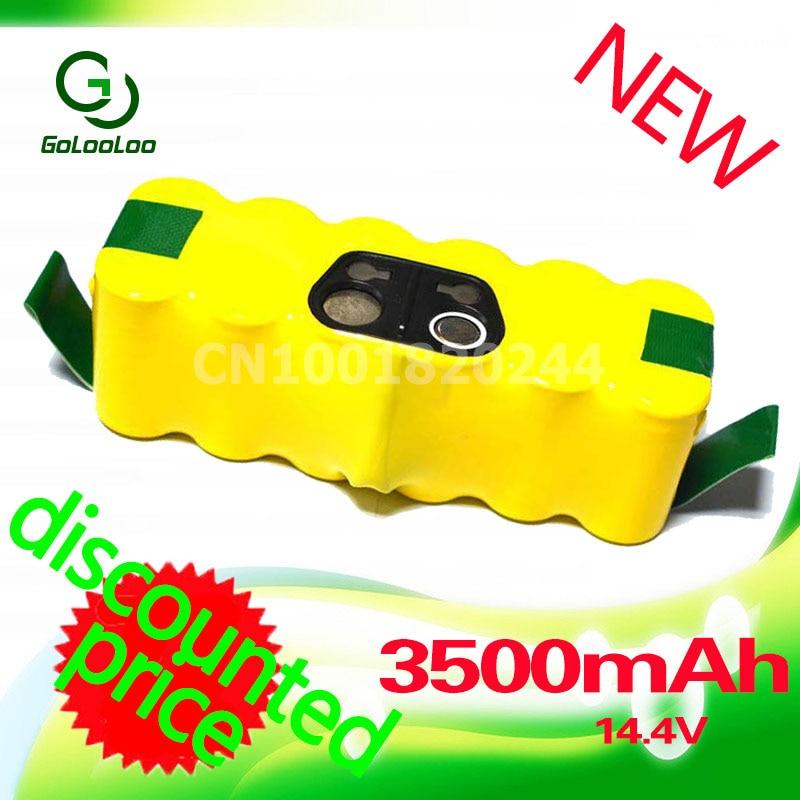 Golooloo 3500mAh Bateria NI-MH para iRobot 500 510 530 550 560 570 580 600 610 620 630 650 700 780 770 760 790 870 880