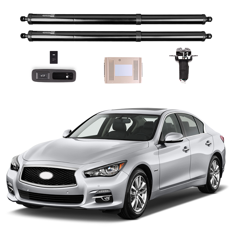 2018 New Electric Tail Gate Refitted For Infiniti Q50 Electric Suction Door Automobile Refitted Automatic Locks Car Accessories