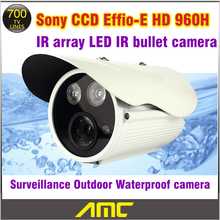CCD Sony CCTV Camera 700TVL 24Pcs CCTV Security Camera Outdoor 2*Array IR LED Cameras Security Surveillance System