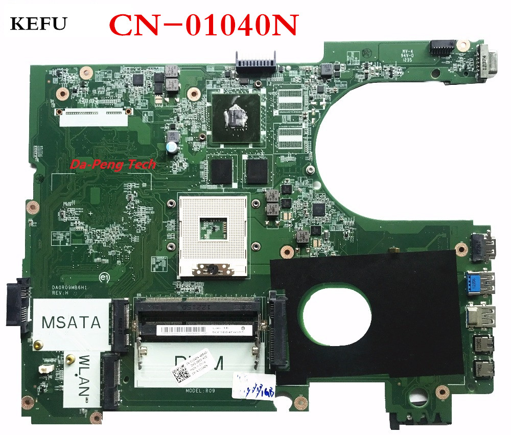 KEFU DA0R09MB6H1 REV H LAPTOP MOTHERBOARD CN 01040N FOR DELL for INSPIRON 5720 7720 COMPATIBLE with