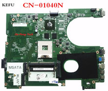 KEFU DA0R09MB6H1 REV : H LAPTOP MOTHERBOARD CN-01040N FOR DELL for INSPIRON 5720 7720 (COMPATIBLE with cn-072P0M) NOTEBOOK(China)