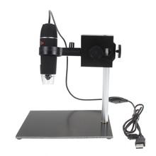Cheaper Portable Digital USB Microscope Repair Magnifier 8 pcs LED Magnifier 500x USB Digital Holder Soldering Stand Lamp NG4S