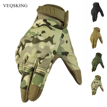 Gloves Touch-Screen Cycling Military Waterproof Outdoor Full-Finger Men for Hunting Men's
