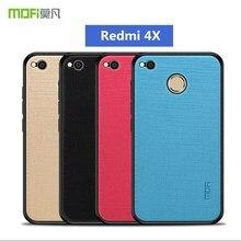 Оригинальный чехол MOFi чехол для Xiaomi Redmi 4x телефон случаях полная Защита задняя крышка чехол для Xiaomi Redmi 4x Pro 5,0 дюймов
