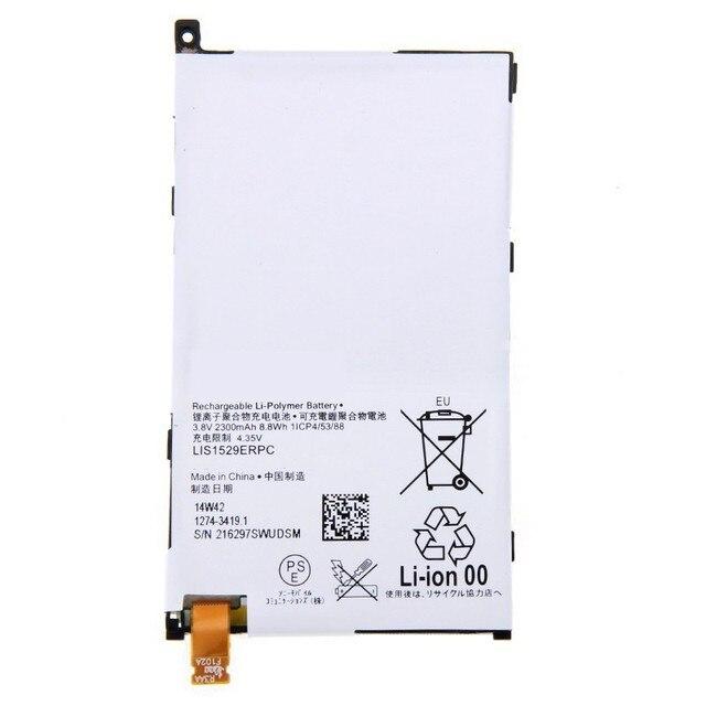 2300mAh New Original Battery For Sony Xperia Z1 mini D5503 Xperia Z1 Compact M51w LIS1529ERPC Replacement Batteria