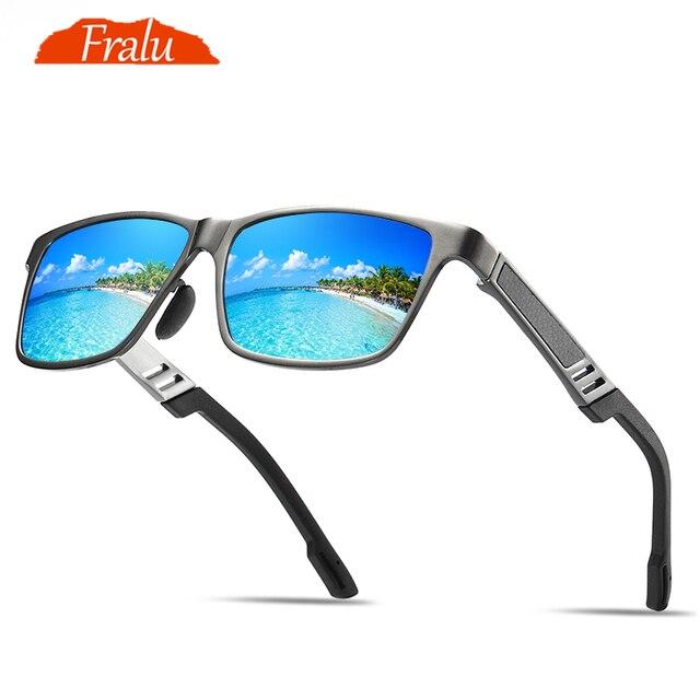 b45928c8a7 FRALU los hombres gafas de sol polarizadas de aluminio y magnesio, gafas de  sol de. Sitúa el cursor encima para ...