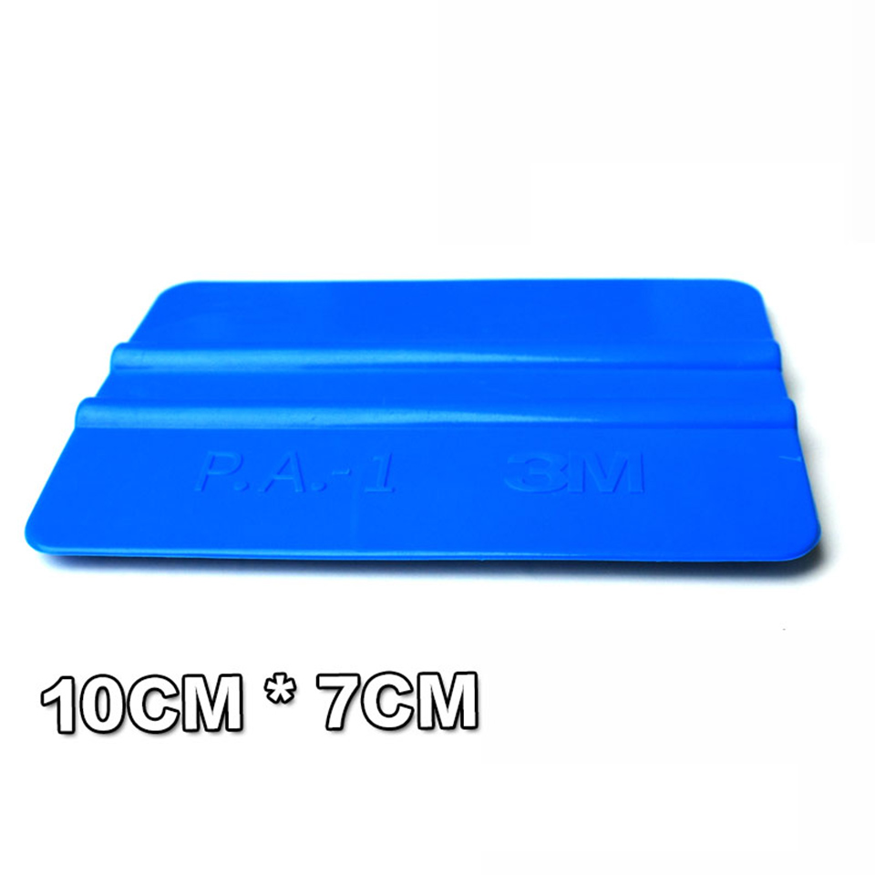 Image 3 - Good Quality Car Tint Tool 10*7.5cm Bump Cards Blue 3 M Hand Applicator Squeegee For Car Wrapping PA 1-in Car Stickers from Automobiles & Motorcycles