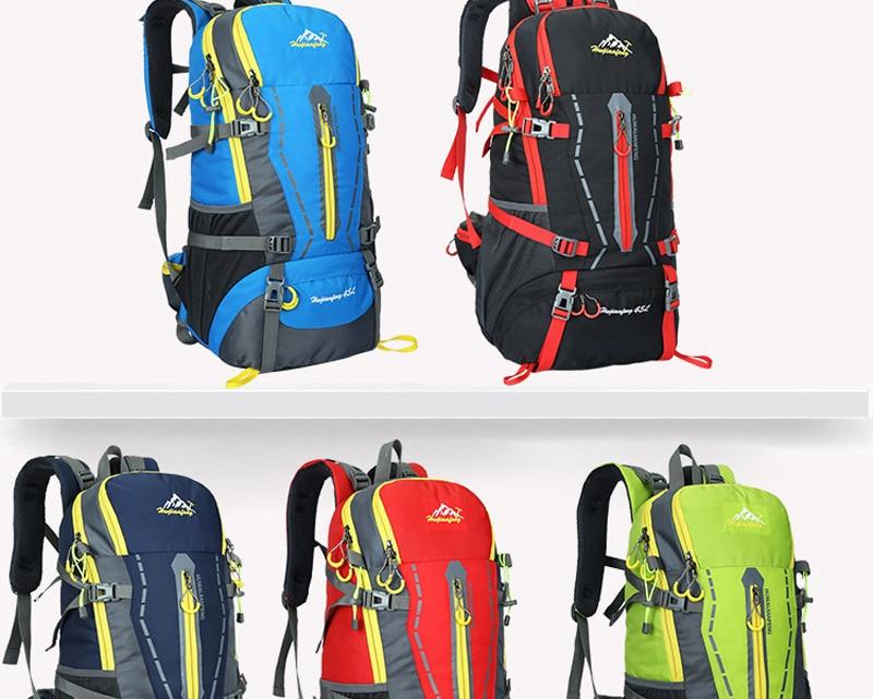 Livre Mochila Caminhadas mochila de Camping Biking