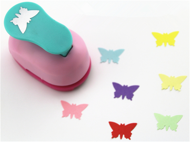 Freeship 3/8'' 1cm Butterfly Paper Punch Scrapbooking Punches Craft Perfurador Paper Punch For Kids Furador Diy Puncher 31713