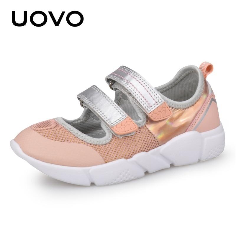 Summer Kids Shoes Girls Light Weight Spring And Summer Soft Sport Sole School ballerina Dress Shoes For Little Kids Eur# 25-37