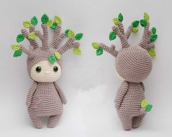 Crochet Toys  Amigurumi  Doll Tree Boy Model    Number XN041049