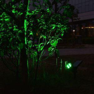 Image 5 - T SUNRISE 4 Pack Solar Powered Lampe IP65 Wasserdicht 4 LED Wand Licht für Garten Hof Dekoration Grüne Farbe