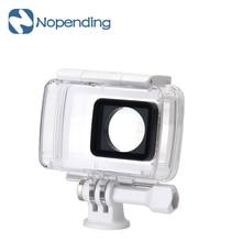Original xiaomi yi 4 k cámara de acción accesorios de la cámara caja impermeable de buceo 40 m temperatura de funcionamiento de gran alcance