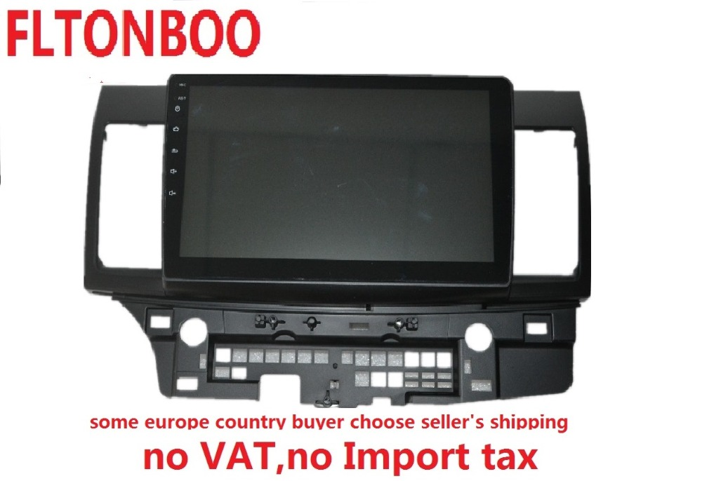 10 1inch 1024 x 600 quad core Android 7 0 for MITSUBISHI LANCER font b car