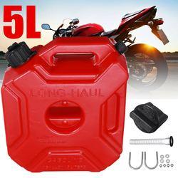 Partol 5L kanistry plastikowe puszki benzynowe kanister samochodowy motocykl Jerrycan puszka na gaz benzyna pojemnik na olej kanister paliwa